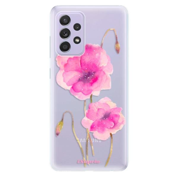 Odolné silikonové pouzdro iSaprio - Poppies 02 - Samsung Galaxy A52/A52 5G