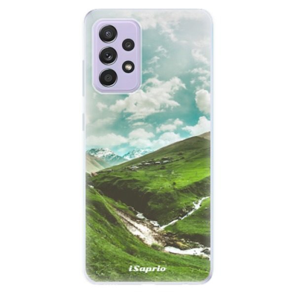 Odolné silikonové pouzdro iSaprio - Green Valley - Samsung Galaxy A52/A52 5G
