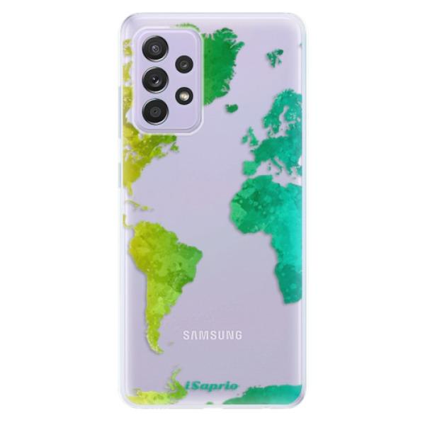 Odolné silikonové pouzdro iSaprio - Cold Map - Samsung Galaxy A52/A52 5G