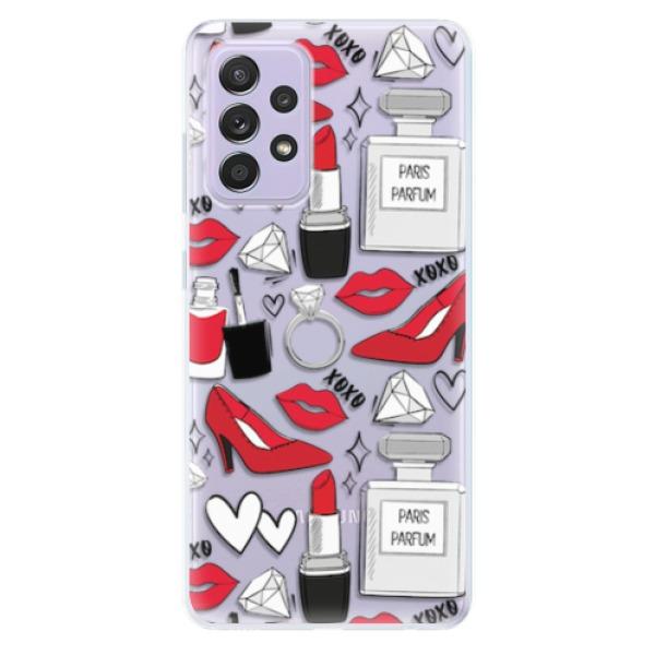 Odolné silikonové pouzdro iSaprio - Fashion pattern 03 - Samsung Galaxy A52/A52 5G