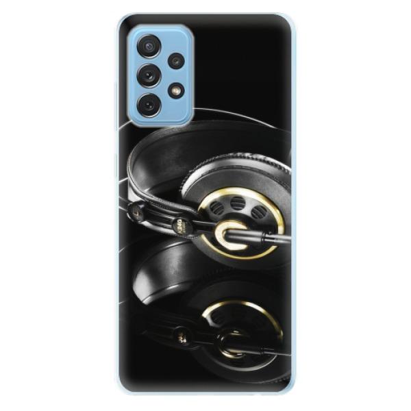 Odolné silikonové pouzdro iSaprio - Headphones 02 - Samsung Galaxy A72
