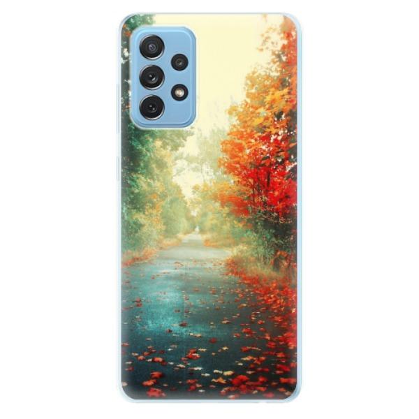 Odolné silikonové pouzdro iSaprio - Autumn 03 - Samsung Galaxy A72