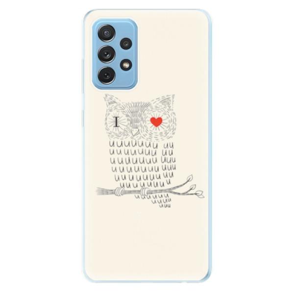 Odolné silikonové pouzdro iSaprio - I Love You 01 - Samsung Galaxy A72