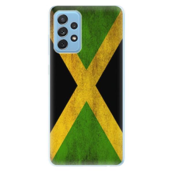 Odolné silikonové pouzdro iSaprio - Flag of Jamaica - Samsung Galaxy A72