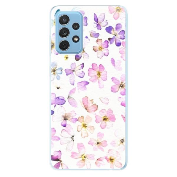 Odolné silikonové pouzdro iSaprio - Wildflowers - Samsung Galaxy A72