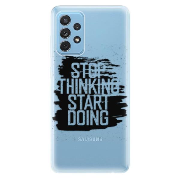 Odolné silikonové pouzdro iSaprio - Start Doing - black - Samsung Galaxy A72