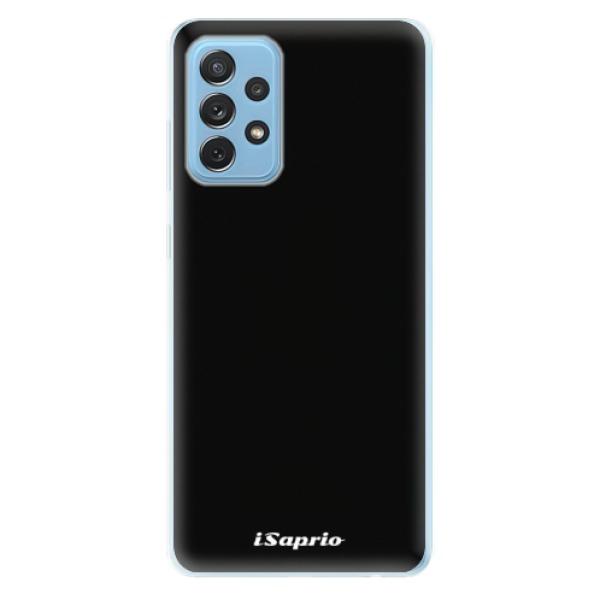 Odolné silikonové pouzdro iSaprio - 4Pure - černý - Samsung Galaxy A72