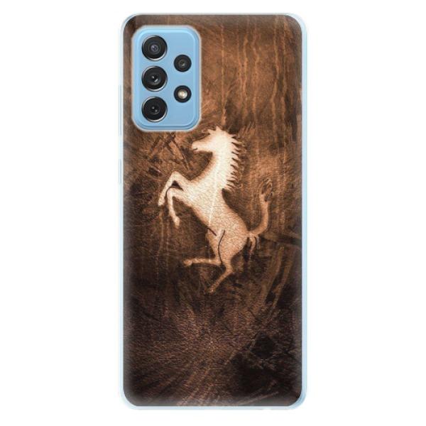 Odolné silikonové pouzdro iSaprio - Vintage Horse - Samsung Galaxy A72