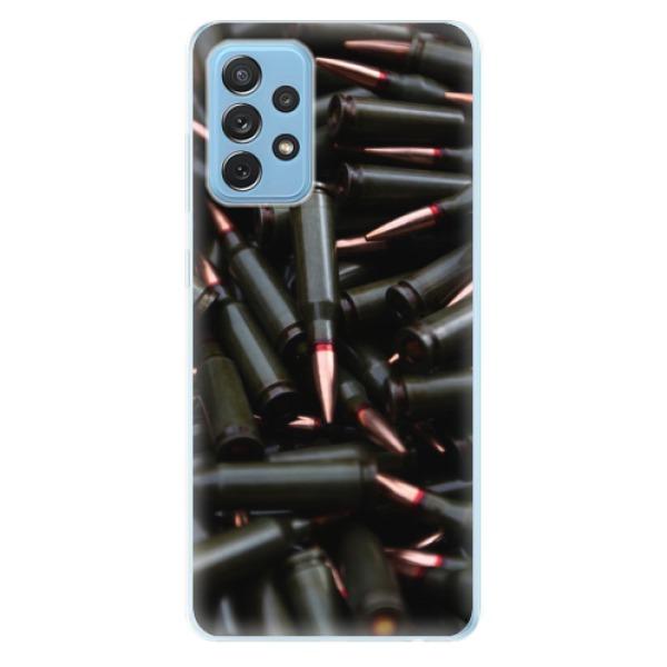 Odolné silikonové pouzdro iSaprio - Black Bullet - Samsung Galaxy A72