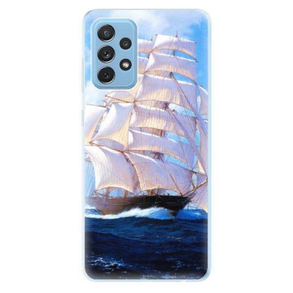 Odolné silikonové pouzdro iSaprio - Sailing Boat - Samsung Galaxy A72