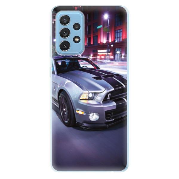 Odolné silikonové pouzdro iSaprio - Mustang - Samsung Galaxy A72