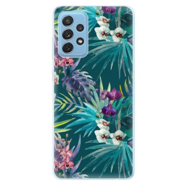 Odolné silikonové pouzdro iSaprio - Tropical Blue 01 - Samsung Galaxy A72