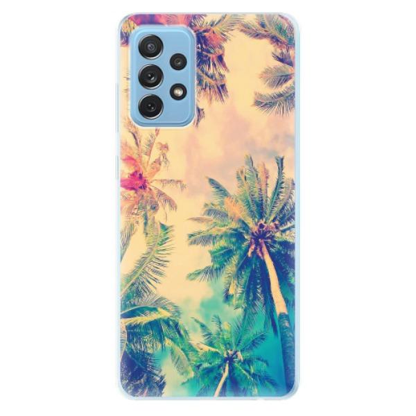 Odolné silikonové pouzdro iSaprio - Palm Beach - Samsung Galaxy A72