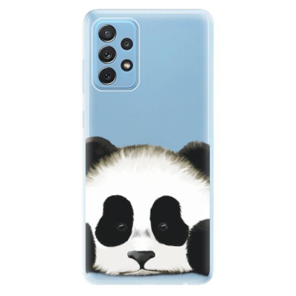 Odolné silikonové pouzdro iSaprio - Sad Panda - Samsung Galaxy A72