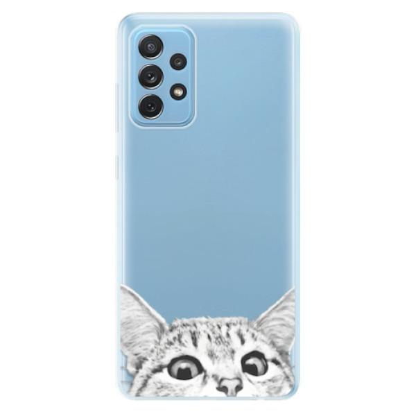 Odolné silikonové pouzdro iSaprio - Cat 02 - Samsung Galaxy A72