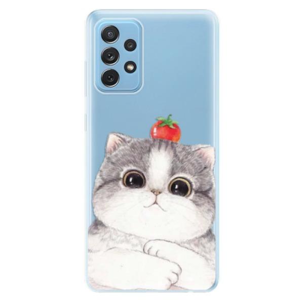 Odolné silikonové pouzdro iSaprio - Cat 03 - Samsung Galaxy A72