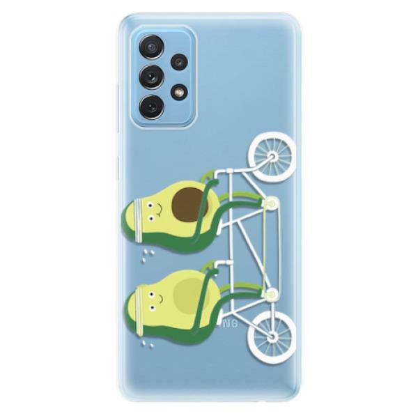 Odolné silikonové pouzdro iSaprio - Avocado - Samsung Galaxy A72