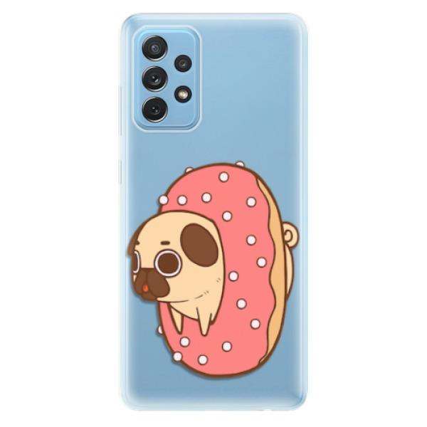 Odolné silikonové pouzdro iSaprio - Dog 04 - Samsung Galaxy A72