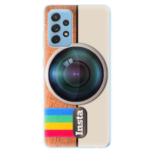Odolné silikonové pouzdro iSaprio - Insta - Samsung Galaxy A72