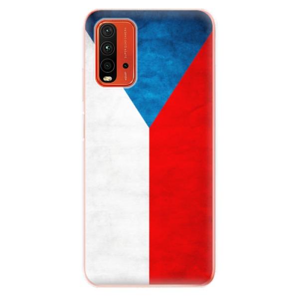 Odolné silikonové pouzdro iSaprio - Czech Flag - Xiaomi Redmi 9T