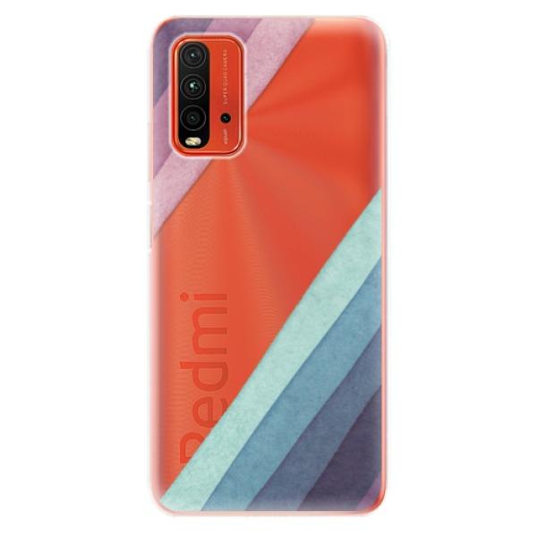 Odolné silikonové pouzdro iSaprio - Glitter Stripes 01 - Xiaomi Redmi 9T