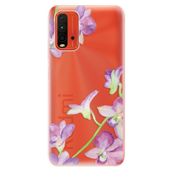 Odolné silikonové pouzdro iSaprio - Purple Orchid - Xiaomi Redmi 9T