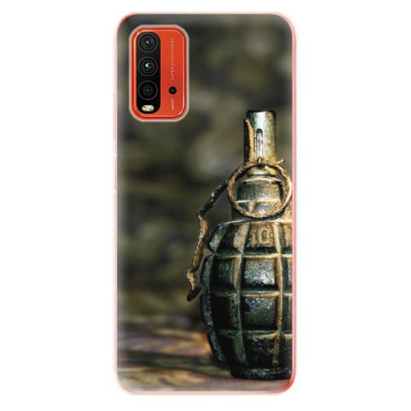 Odolné silikonové pouzdro iSaprio - Grenade - Xiaomi Redmi 9T