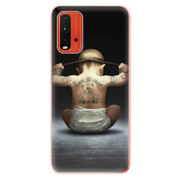 Odolné silikonové pouzdro iSaprio - Crazy Baby - Xiaomi Redmi 9T