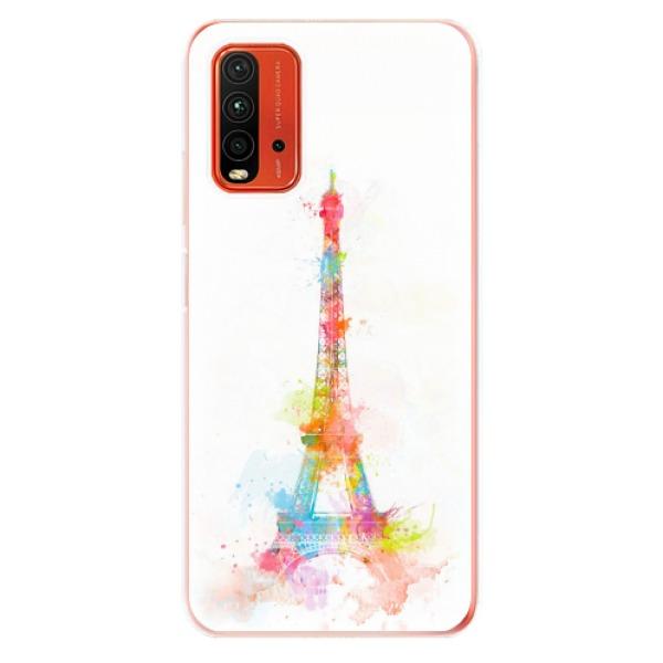 Odolné silikonové pouzdro iSaprio - Eiffel Tower - Xiaomi Redmi 9T