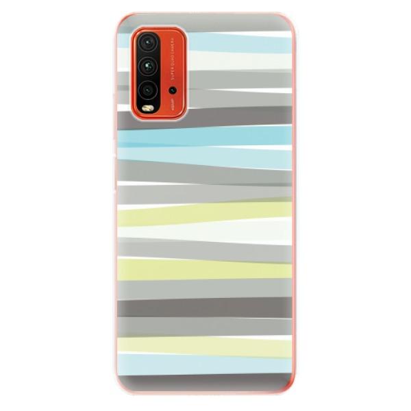 Odolné silikonové pouzdro iSaprio - Stripes - Xiaomi Redmi 9T