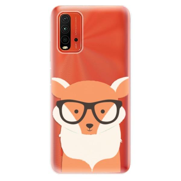 Odolné silikonové pouzdro iSaprio - Orange Fox - Xiaomi Redmi 9T