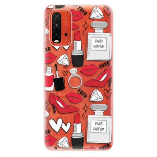 Odolné silikonové pouzdro iSaprio - Fashion pattern 03 - Xiaomi Redmi 9T