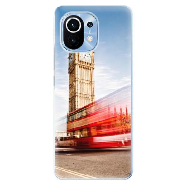 Odolné silikonové pouzdro iSaprio - London 01 - Xiaomi Mi 11