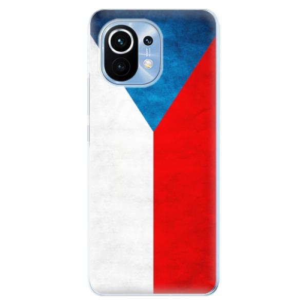 Odolné silikonové pouzdro iSaprio - Czech Flag - Xiaomi Mi 11