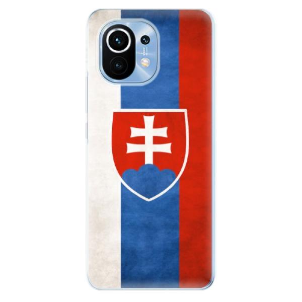 Odolné silikonové pouzdro iSaprio - Slovakia Flag - Xiaomi Mi 11