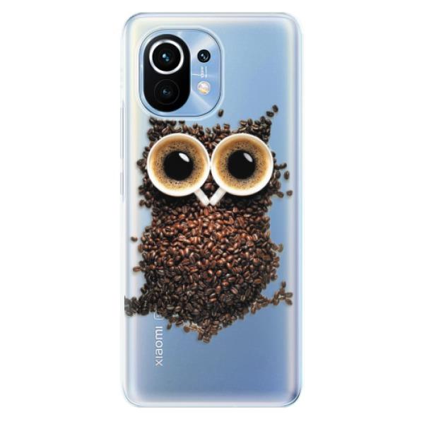 Odolné silikonové pouzdro iSaprio - Owl And Coffee - Xiaomi Mi 11
