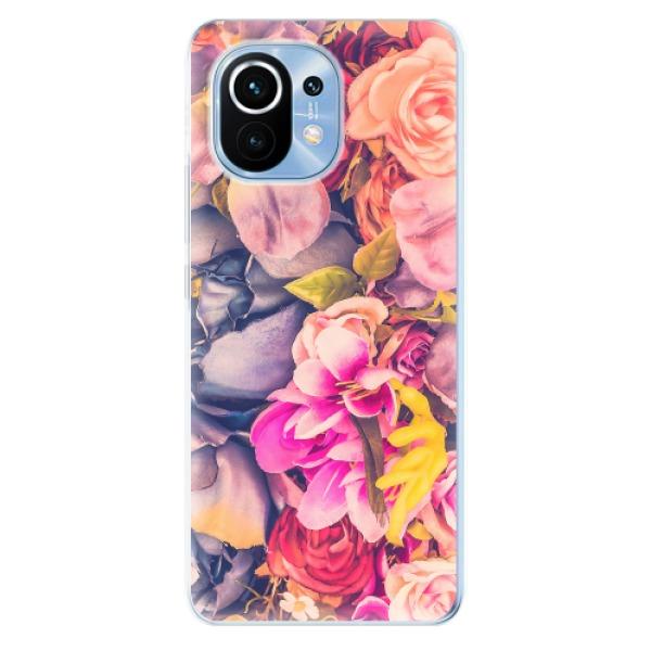 Odolné silikonové pouzdro iSaprio - Beauty Flowers - Xiaomi Mi 11