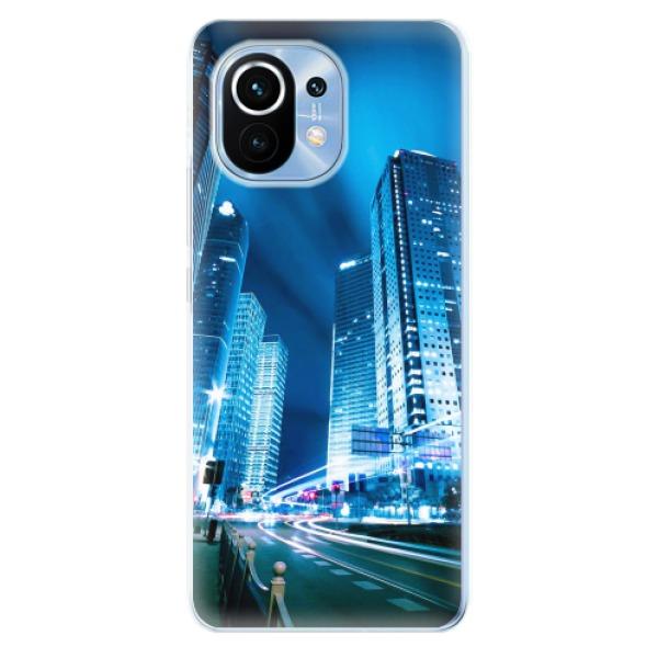 Odolné silikonové pouzdro iSaprio - Night City Blue - Xiaomi Mi 11