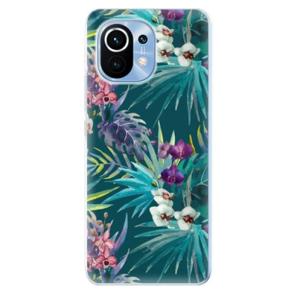 Odolné silikonové pouzdro iSaprio - Tropical Blue 01 - Xiaomi Mi 11
