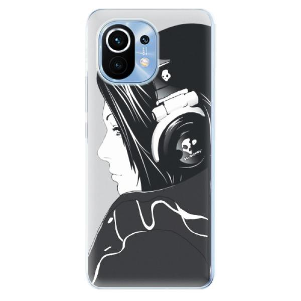 Odolné silikonové pouzdro iSaprio - Headphones - Xiaomi Mi 11
