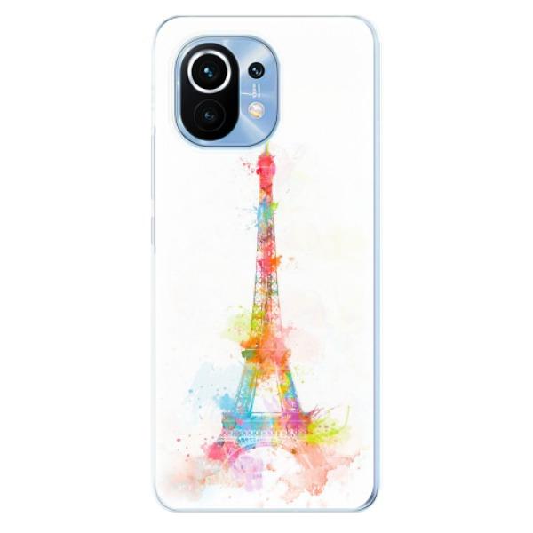 Odolné silikonové pouzdro iSaprio - Eiffel Tower - Xiaomi Mi 11