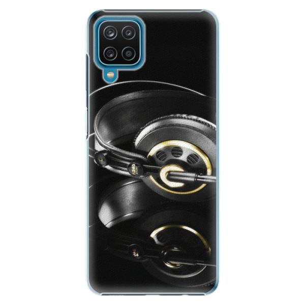 Plastové pouzdro iSaprio - Headphones 02 - Samsung Galaxy A12