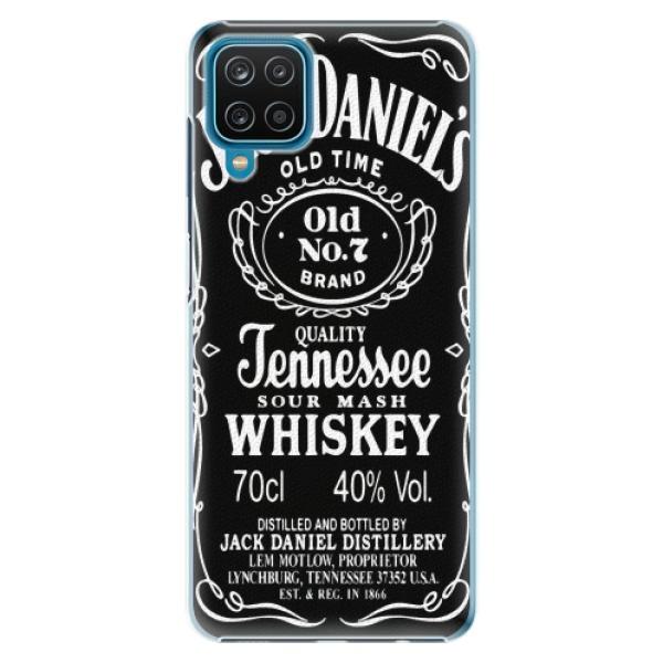 Plastové pouzdro iSaprio - Jack Daniels - Samsung Galaxy A12