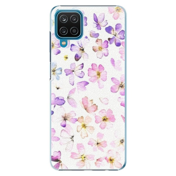Plastové pouzdro iSaprio - Wildflowers - Samsung Galaxy A12