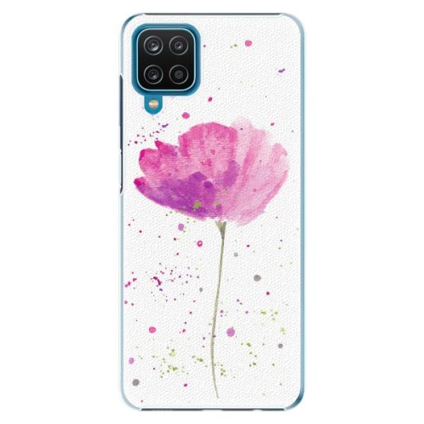Plastové pouzdro iSaprio - Poppies - Samsung Galaxy A12