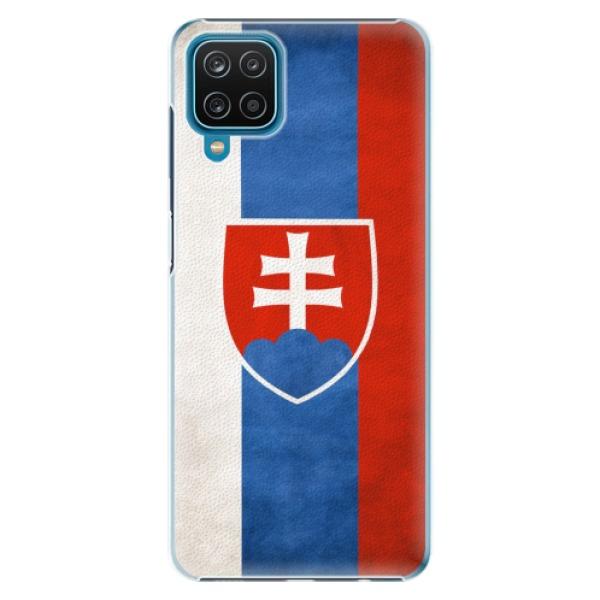Plastové pouzdro iSaprio - Slovakia Flag - Samsung Galaxy A12