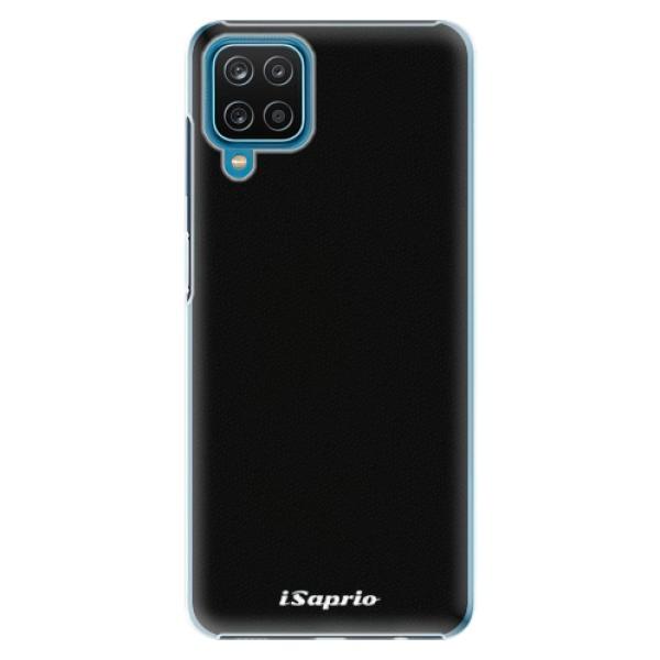 Plastové pouzdro iSaprio - 4Pure - černý - Samsung Galaxy A12