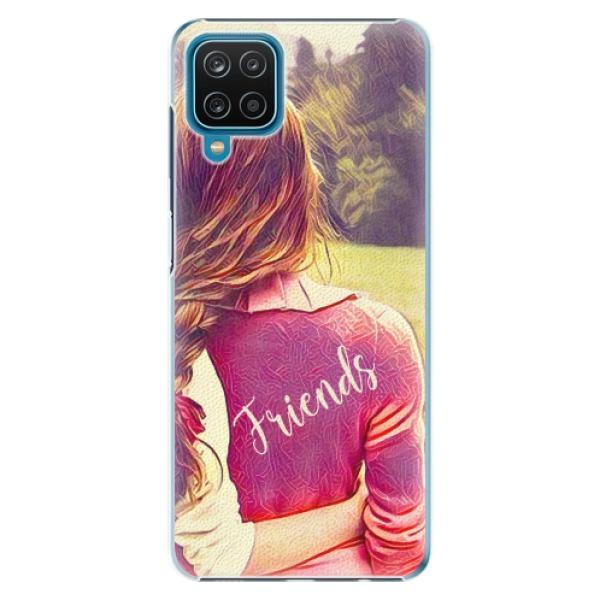 Plastové pouzdro iSaprio - BF Friends - Samsung Galaxy A12