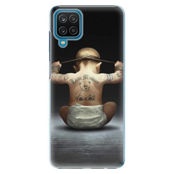 Plastové pouzdro iSaprio - Crazy Baby - Samsung Galaxy A12