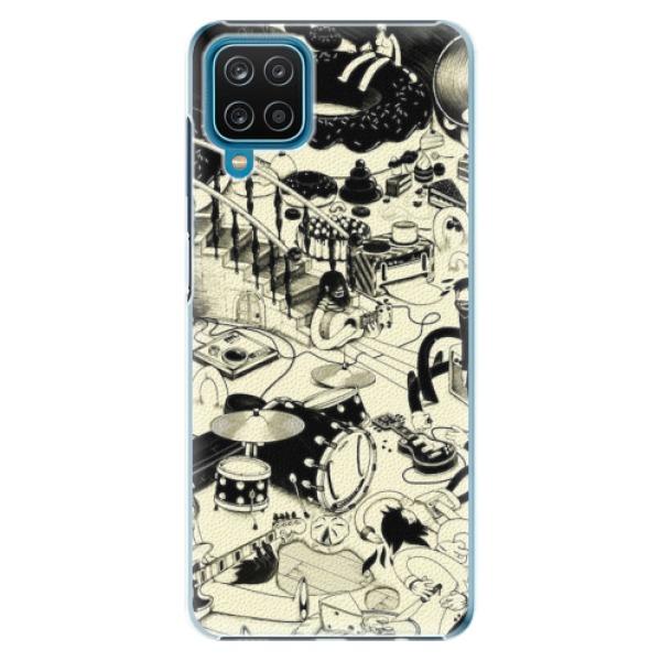 Plastové pouzdro iSaprio - Underground - Samsung Galaxy A12